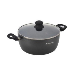 Premia 20cm casserole with lid Wonderchef