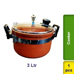Pressure Cooker Earthern Clay