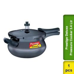 Prestige Deluxe Black Hard Anodized Pressure Cooker 3.4L