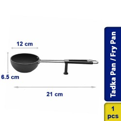 Prestige Tadka Pan / Hard Anodised Cookware Tadka Pan 130mm