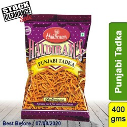 Punjabi Tadka Haldirams 400g Clearance Sale