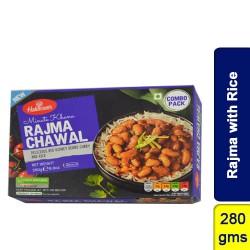 Rajma with Rice Haldirams 280g Ready to Eat Frozen