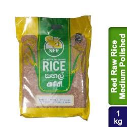 Red Raw Rice Medium Polished 1kg