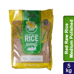 Red Raw Rice Medium Polished 5Kg