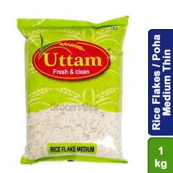 Rice Flakes / Poha / Aval Medium Uttam