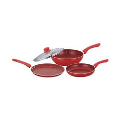 Royal Velvet Plus Set Red Wonderchef