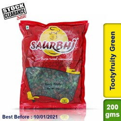 Saurbhi Tootyfruity Green Clearance Sale