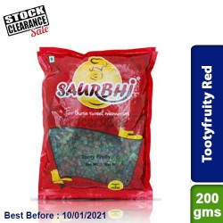 Saurbhi Tootyfruity Red Clearance Sale