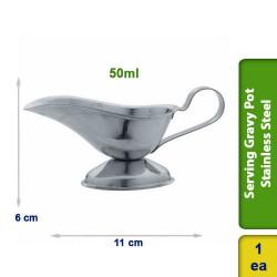 Serving Gravy Pot Stainless Steel 50ml