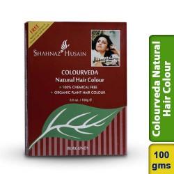Shahnaz Husain Burgundy Colourveda Natural Hair Colour 100g