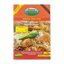 Sindhi Biryani Masala Powder Curry Masters