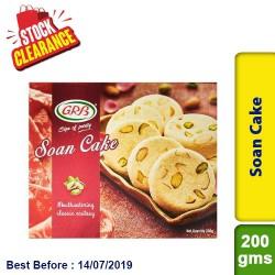 Soan Cake GRB Clearance Sale