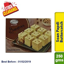 Soan Papdi Buttercotch GRB - Clearance Sale