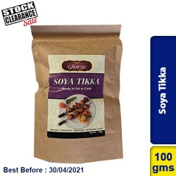 Soya Tikka Ready to Eat or Cook 100g Clearance Sale