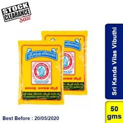 Sri Kanda Vilas Vibuthi Clearance Sale
