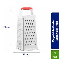 Stainless Steel Vegetable Grater Slicer Box Type