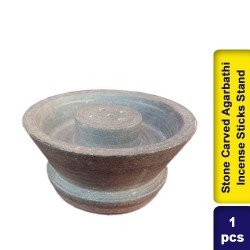 Stone Carved Agarbathi Incense Sticks Stand