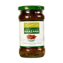 Stuffed Red Chilly Pickle Sanjeev Kapoor Khazana