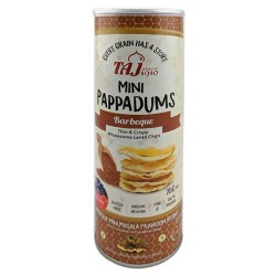 Taj Mini Pappadums Barbeque Flavour