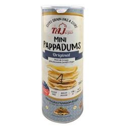 Taj Mini Pappadums Original Flavour