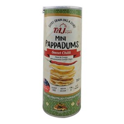 Taj Mini Pappadums Sweet Chilli