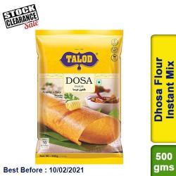 Talod Dhosa Flour Instant Mix 500gm Clearance Sale