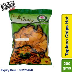 Tapiaco Chips Hot Lotus 200g Clearance Sale