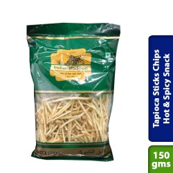 Tapioca Sticks Chips Hot & Spicy Snack
