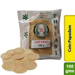 Thulasi Coin Papadam 100g