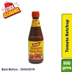 Tomato Ketchup Pattu - Clearance Sale