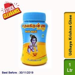 Udhaya Krishna Ghee 1 Ltr Clearance Sale