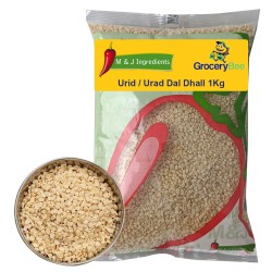 Urid / Urad Dal Dhall (Urid Wash) 1kg M&J