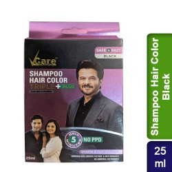 VCare Triple Plus Shampoo Hair Color Black