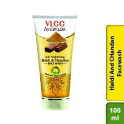 VLCC Ayurveda Skin Brightening Haldi & Chandan Face Wash 100ml