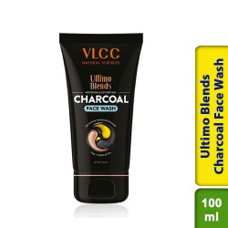 VLCC Ultimo Blends Charcoal Face Wash for Whitening & Detoxifying 100ml