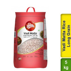 Vadi Matta Rice Long Grain Double Horse 5kg