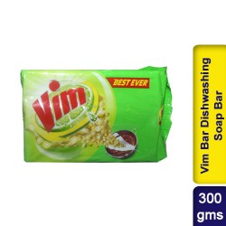 Vim Bar Dishwashing Soap Bar 300g