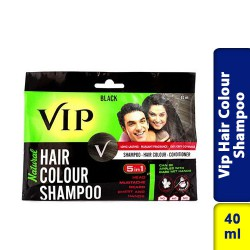 Vip Hair Colour Shampoo Natural Black 40ml