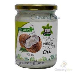 Virgin white coconut oil 500ml