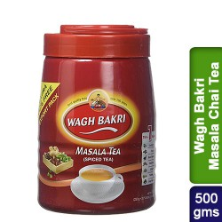 Wagh Bakri Masala Chai Tea Pet Box 500g