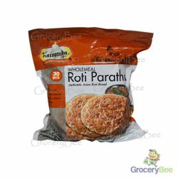 Wholemeal Roti Paratha Frozen 30pc