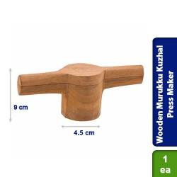 Wooden Sevanazhi Murukku Kuzhal Press Maker