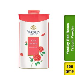 Yardley London Red Roses Perfumed Talcum Powder
