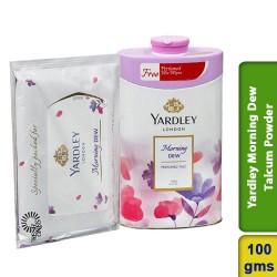 Yardley Morning Dew Perfumed Talcum Powder