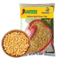 Yellow Split Peas 1Kg M&J