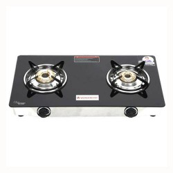 Zest Glass Cooktop 2 Burner Wonderchef