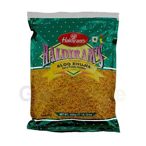 Aloo Bhujia Spicy Potato Noodles