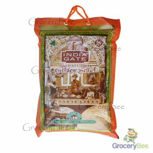 India Gate Golden Sella Basmati Rice 5kg