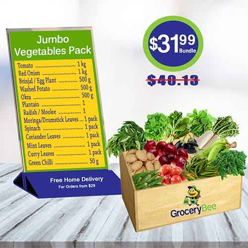 Jumbo Vegetable Pack