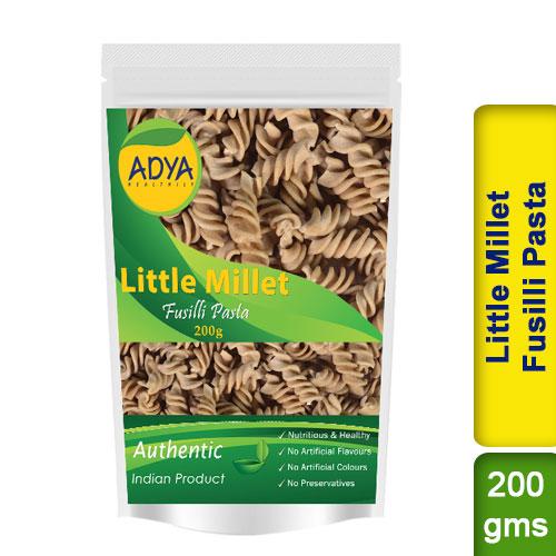 Little Millet Fusilli Pasta / Kutki Samai Sama
